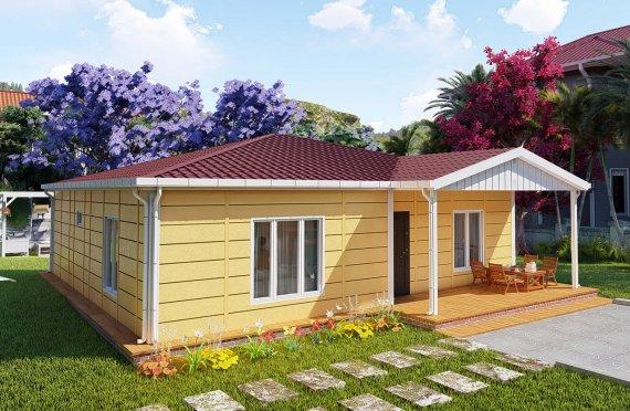 103 m2 Rumah Modular Tingkat Satu