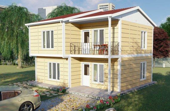 137 m2 Vila Prefab