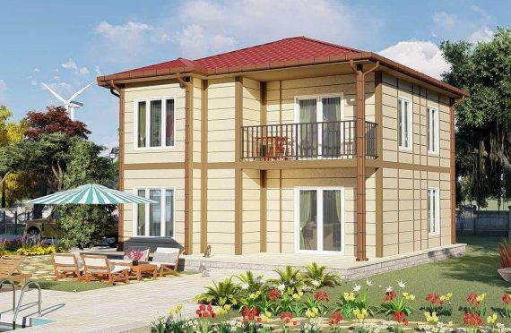 138 m2 Vila Prefab