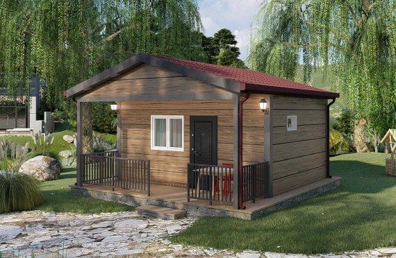 28 m2 Rumah Modular Tingkat Satu