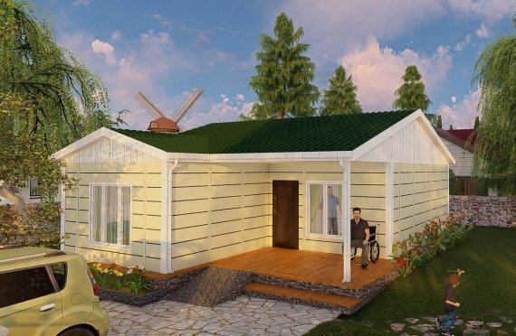 73 m2 Rumah Modular Tingkat Satu
