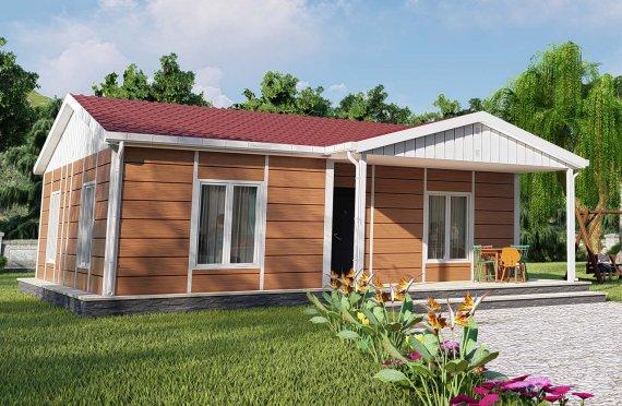 75 m2 Rumah Modular Tingkat Satu