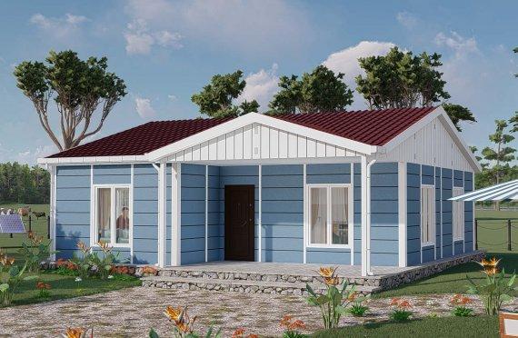 82 m2 Rumah Modular Tingkat Satu