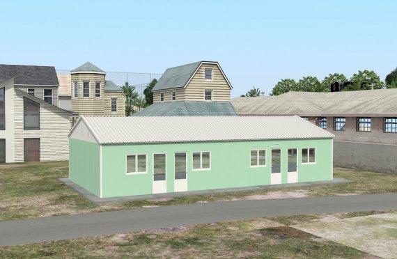 Unit Kemudahan Modular 117 m²