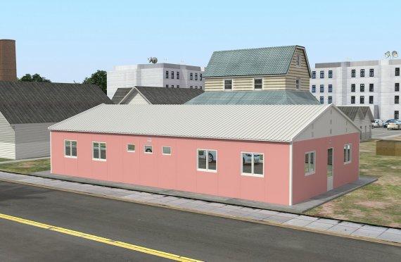 Unit Kemudahan Modular 148 m²