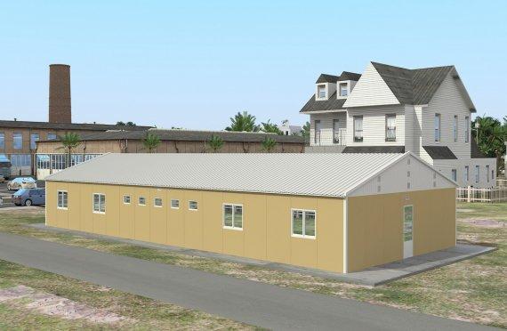 Unit Kemudahan Modular 193 m²
