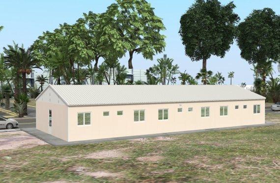 Unit Kemudahan Modular 204 m²
