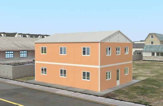 Unit Kemudahan Modular 206 m²