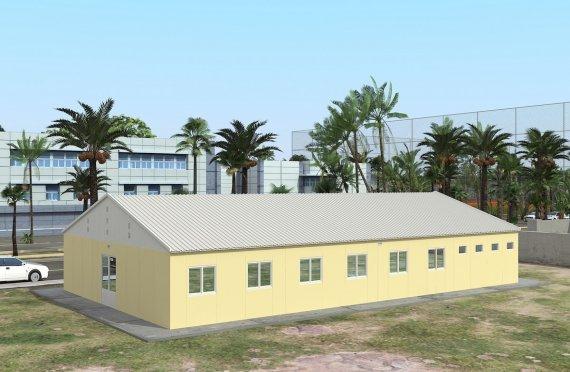 Asrama Pasang Siap 232 m²
