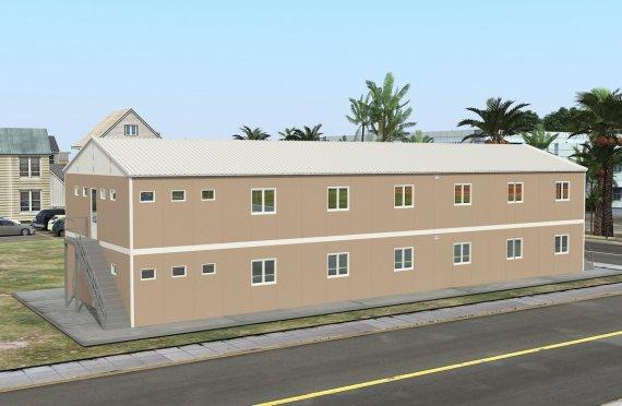 Kemudahan Modular 474 m²