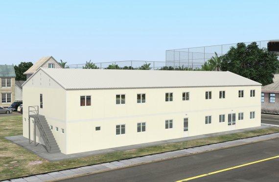 Unit Kemudahan Modular 662 m²