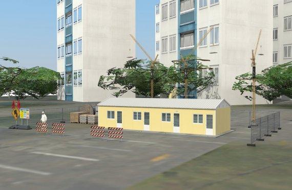 Unit Kemudahan Modular 79 m²