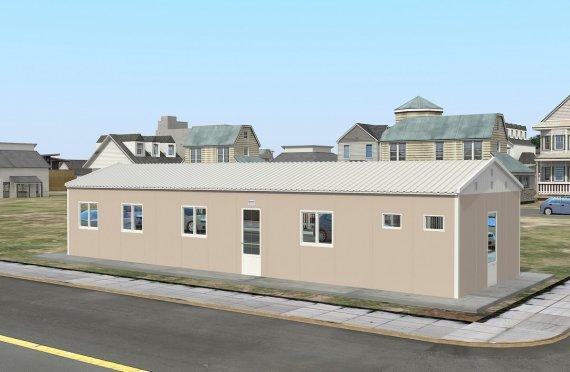 Unit Kemudahan Modular 86 m²