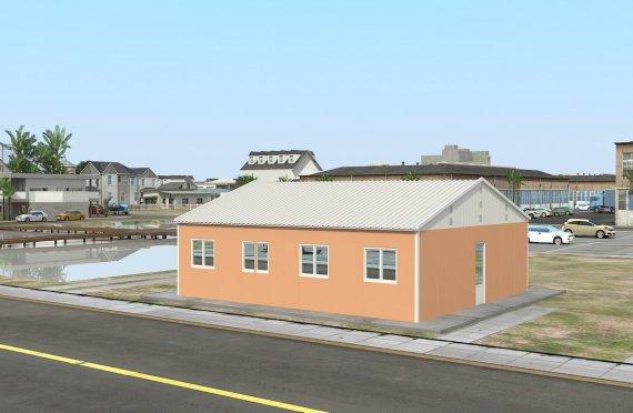 Unit Kemudahan Modular 91 m²
