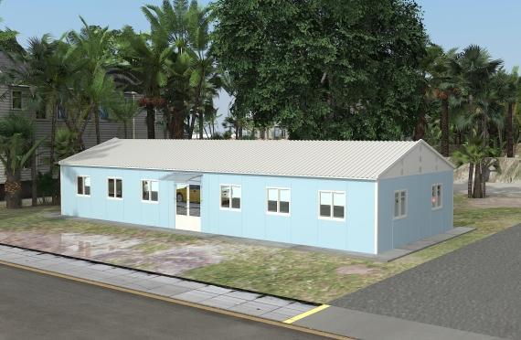 Binaan Pejabat Modular 146 m²