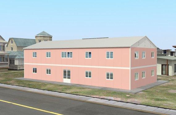 Bilik Darjah Mudah Alih 480 m²