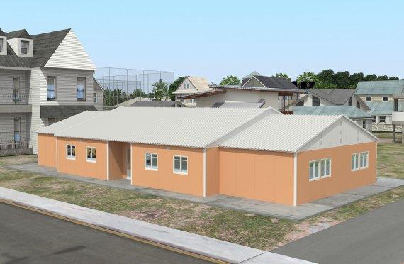 Bilik Darjah Mudah Alih 272 m²