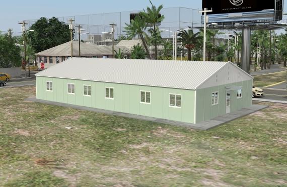 Binaan Pejabat Modular 246 m²