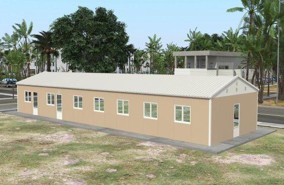 Dapur Komersial Pasang Siap 139 m²