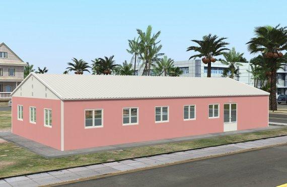 Dapur Komersial Pasang Siap 170 m²