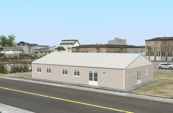 Dapur Komersial Pasang Siap 217 m²