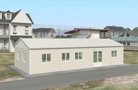 Dapur Komersial Pasang Siap 98 m²