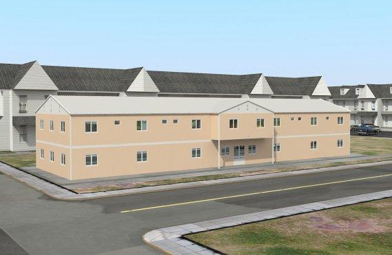 Kemudahan Awam Modular 793 m²