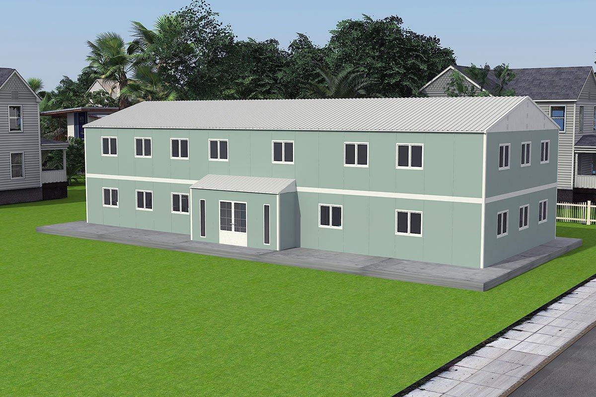 Bangunan Pejabat Modular 415 m²
