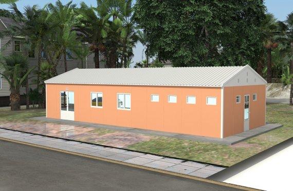 Kafeteria Modular 98 m²