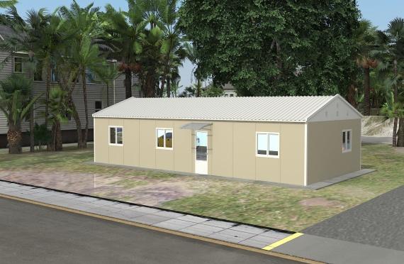 Binaan Pejabat Modular 90 m²