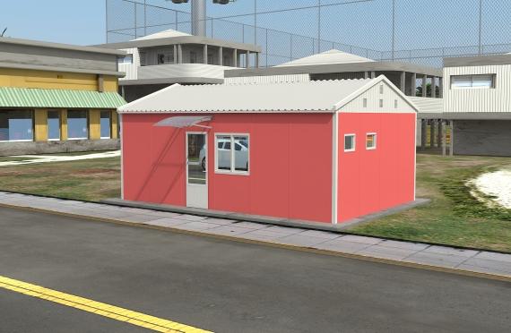 Binaan Pejabat Modular 40 m²