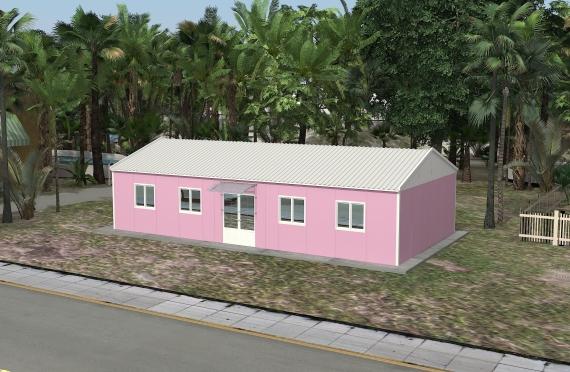 Binaan Pejabat Modular 98 m²