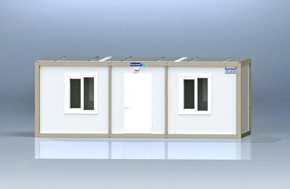 Kontena Pejabat Flatpack K1002