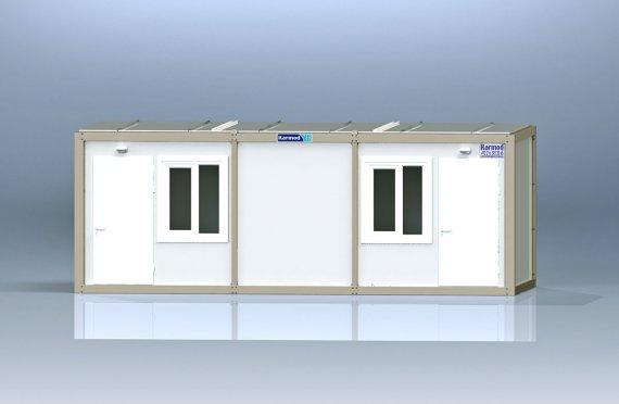 Kontena Pejabat Flatpack K2001