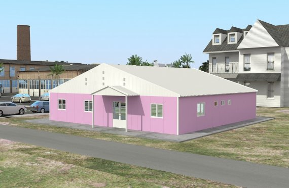 Makmal Modular 222 m²