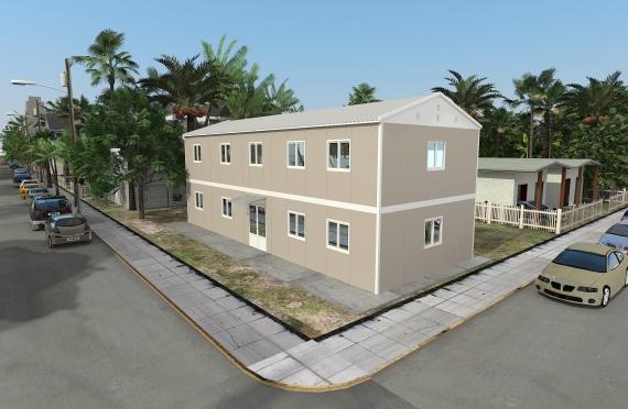 Binaan Pejabat Modular 214 m²