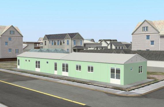 Modular Rumah Ibadat 151 m²