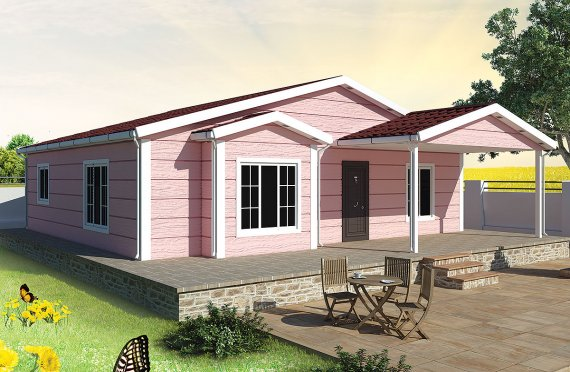 Rumah Pasang Siap 105 m²