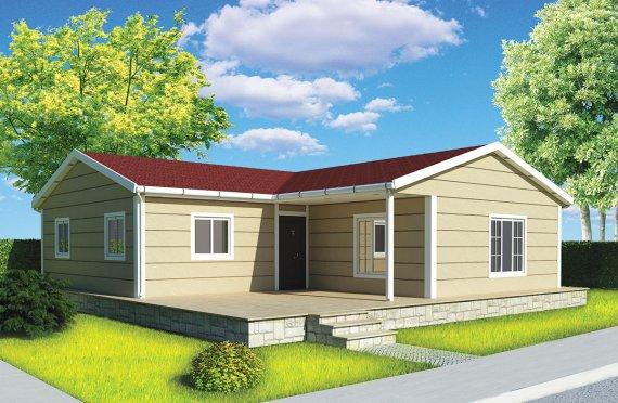 Rumah Pasang Siap 107m²