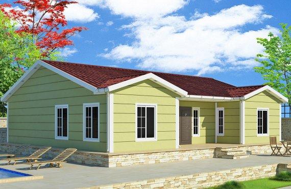 Rumah Pasang Siap 126 m²