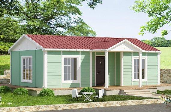 Rumah Pasang Siap 51 m²