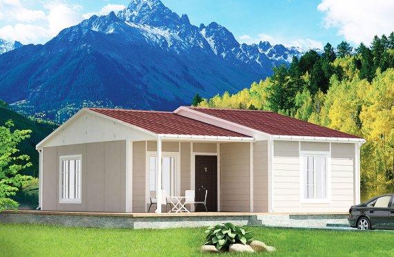 Rumah Pasang Siap 61 m²