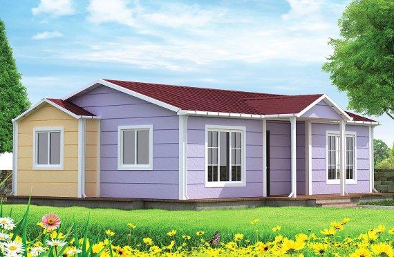 Rumah Pasang Siap 71 m²