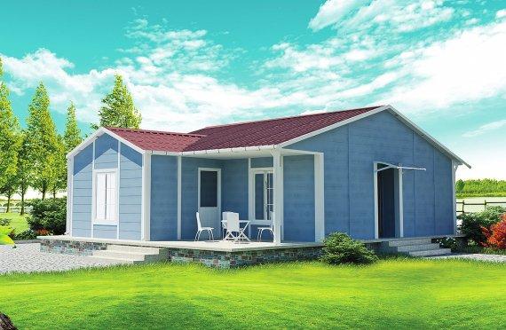 Rumah Pasang Siap 73 m²