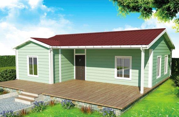 Rumah Pasang Siap 86 m²