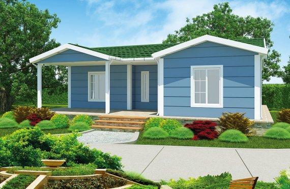 Rumah Pasang Siap 87 m²