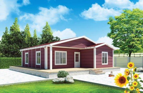 Rumah Pasang Siap 88 m²