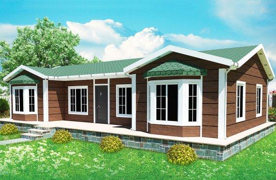 Rumah Pasang Siap 97 m²