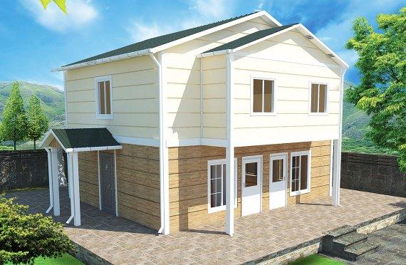 Rumah Pasang Siap 114 m²