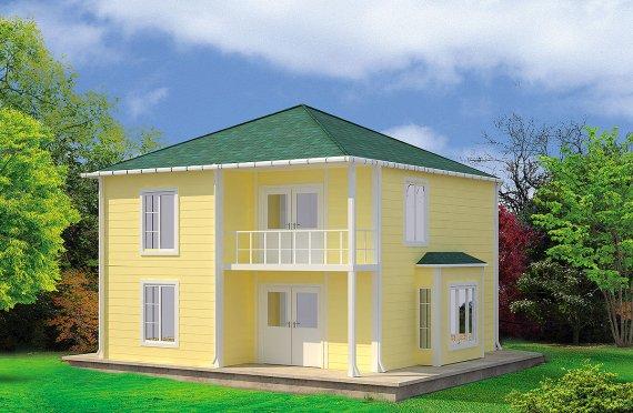 Rumah Pasang Siap 124 m²